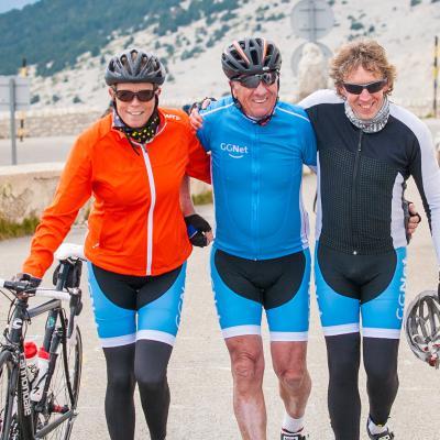 fietsers Tournesol 2017